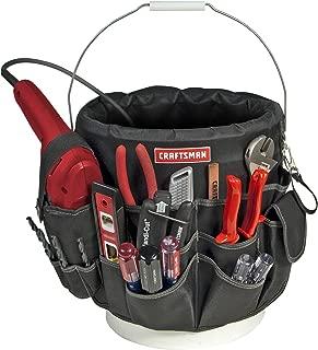 Craftsman 56 Pocket 5 Gallon Bucket Bag Holder