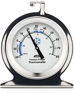 Camco 42114 Refrigerator/Freezer Thermometer,1 Pack