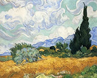 Vincent Van Gogh Wheatfield with Cypress National Gallery - London 30