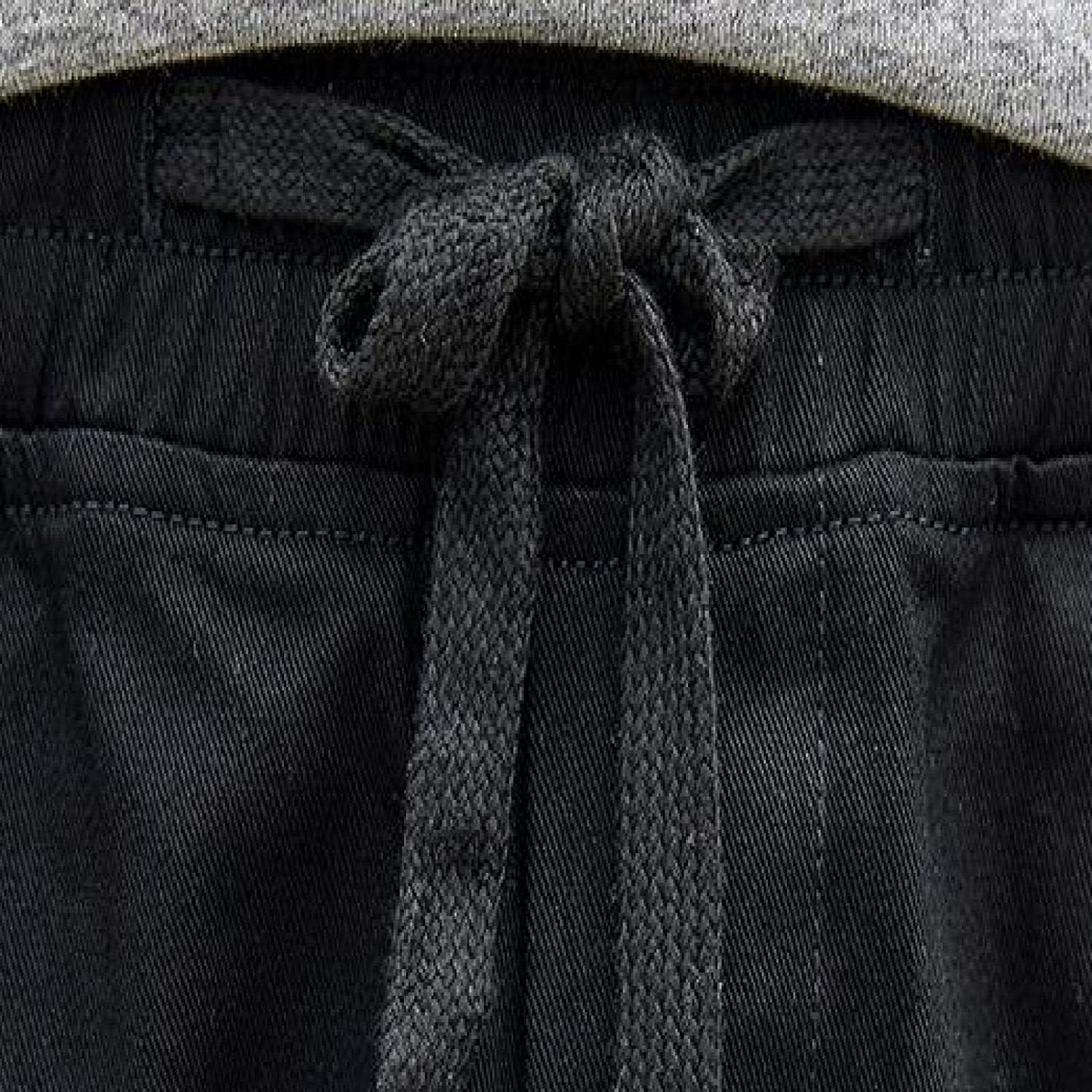 Men's Autumn and Winter Harlan Pants Fashion Patchwork Motion Leisure Trousers