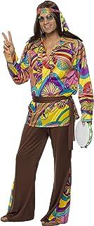 Smiffy`s Men`s Psychedelic Hippie Man Costume