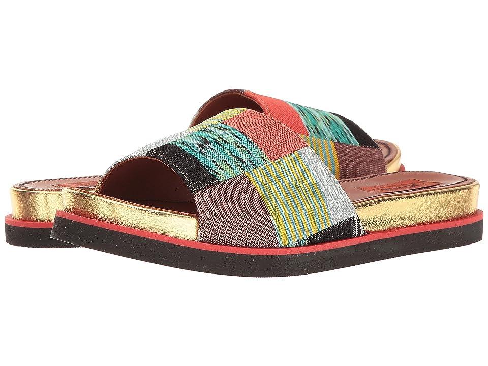 Missoni Patchwork Slide (Multicolor) Women