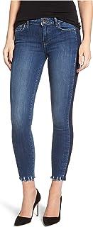 PAIGE Women's Verdugo Side Stripe Ankle Ultra Skinny Jeans Blue 25