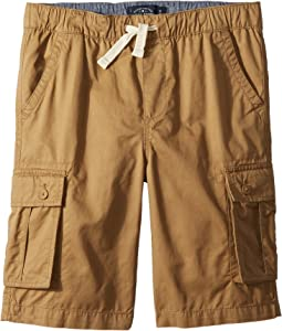 Pull-On Cargo Woven Shorts (Big Kids)