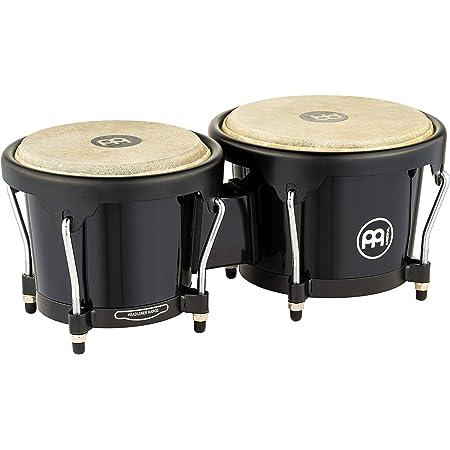 Meinl Percussion HFB100BK Headliner Series Fiberglass Bongos, Black