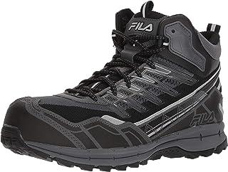FILA Hail Storm 3 - Zapatillas de Trabajo para Hombre (Media compresión, para Senderismo)