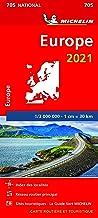 Carte Michelin Europe 2021