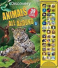 Discovery: Animals All Around (39-Button Sound Books)
