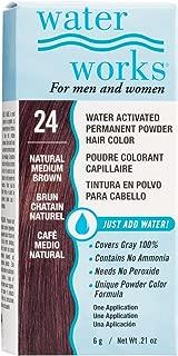 Permanent Powder Hair Color Natural Medium Brown