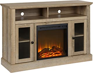 Ameriwood Home Chicago Fireplace TV Stand for TVs up to 50