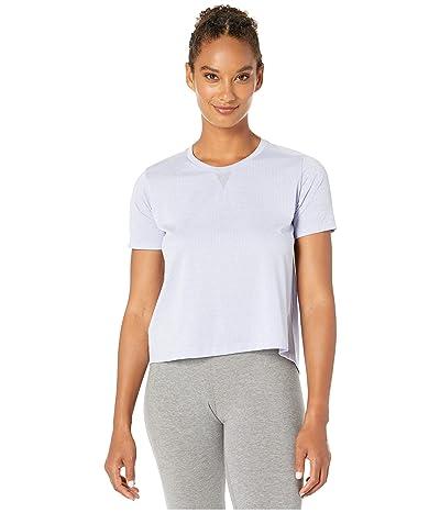 New Balance Impact Run Mesh Short Sleeve (Clear Amethyst Heather) Women