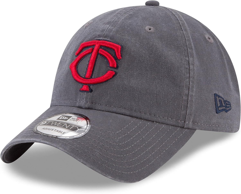Minnesota Twins Core Classic Graphite 9Twenty Adjustable Hat