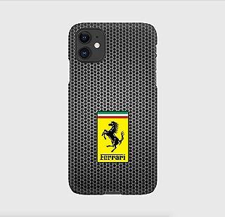 Carbon Ferrari cover per iPhone 12mini, 12, 12 pro, 12 pro max, 11, 11 pro, 11 pro max, XS, X, X max, XR, SE, 7+, 8, 7, 6+...