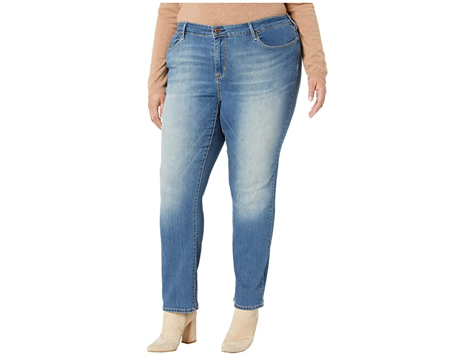 Signature by Levi Strauss & Co. Gold Label Plus Size Straight Jeans (Rhapsody) Women