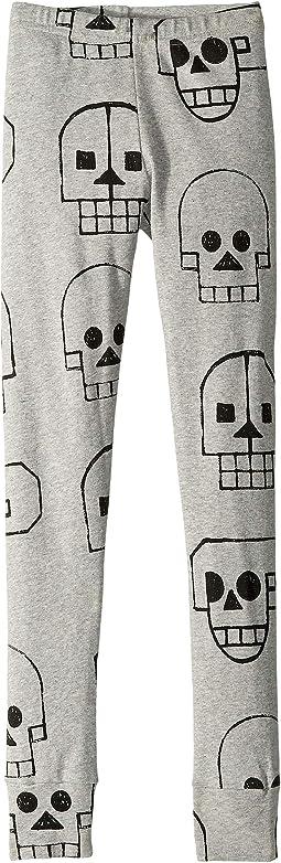 Skull Robot Leggings (Little Kids/Big Kids)