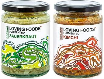 Loving Foods Award-Winning *Certified Organic* Sauerkraut & Kimchi