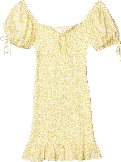 Yellow/White Floral