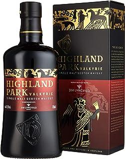 Highland Park Valkyrie Single Malt Scotch Whisky 1 x 0.7 l – warme aromatische Raucharomen und volle, reife Frucht, Teil 1 der Viking Legends Trilogie