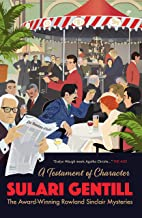 A Testament of Character (The Rowland Sinclair Mysteries)