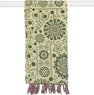 cotton kantha scarf