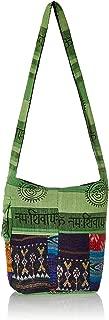 Fabric Shoulder Bag Crossbody Tote Handbags Multicolor College Bag Handmade