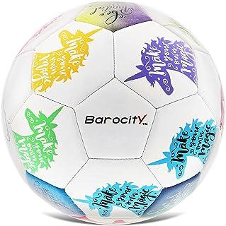 Barocity Unicorn Size 3 Soccer Ball - Boys and Girls...