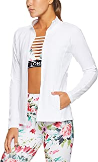 Lorna Jane Women's Fit and Fierce Zip Through Jacket, White