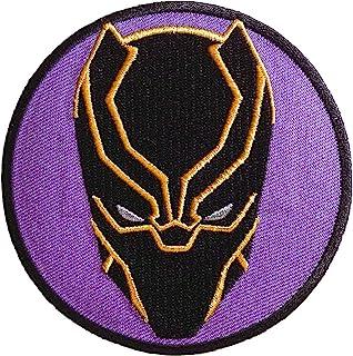 6cfa5a539a440 Amazon.com: black panther patch