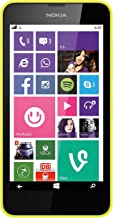 Nokia Microsoft Lumia 635-4G LTE - Unlocked - 8GB (Bright Yellow)