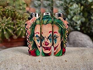 Joker - Porta accendino per Clipper disegnato a mano 1pz