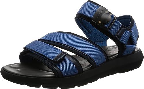 Clarks Vacaciones Hombre Sandalias Jacala Mag En Textil azul