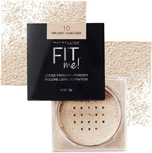 Maybelline Fit Me Loose Finishing Powder - Fair Light 10,4.5g