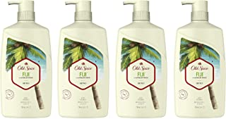 Old Spice Body Wash for Men, Fiji With Palm Tree Scent, Inspired by Nature, 16 Fl Oz (Pack of 4)