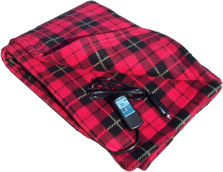 Car Cozy 12-Volt Heated Travel Blanket