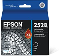 Epson T252XL120 DURABrite Ultra Black High Capacity Cartridge Ink