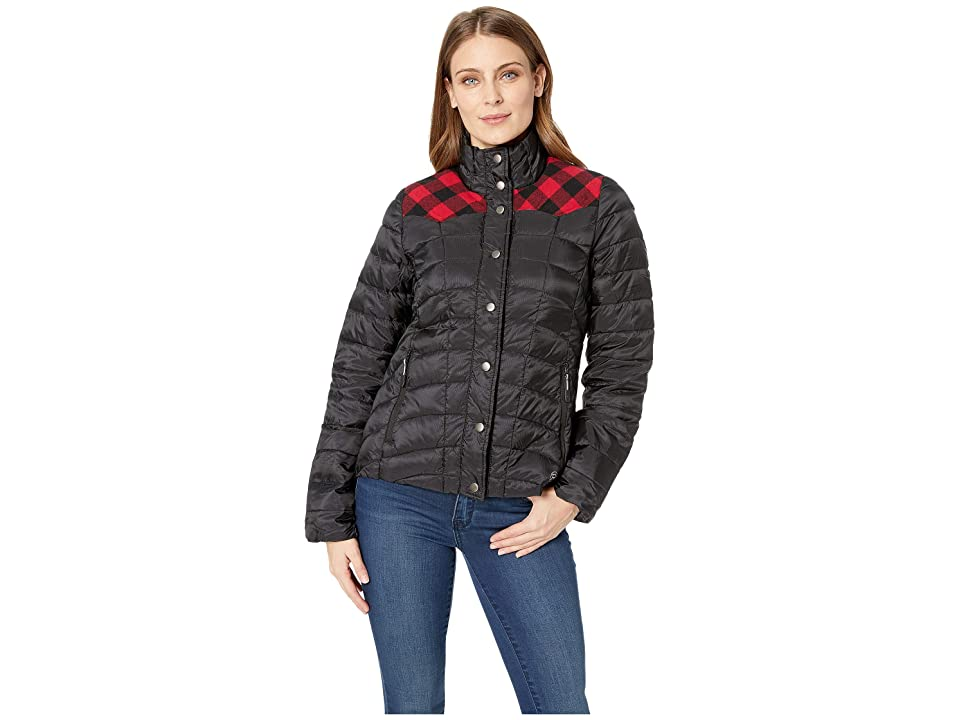 Roper 1411 Quilted Down Coat (Black) Women