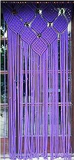cortina de macrame 7 (cuerda de algodón)