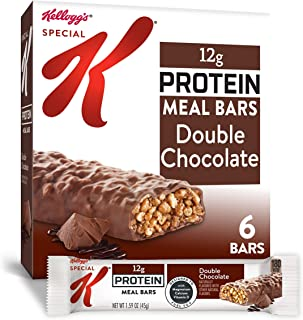 Special K Protein Meal Bars, Double Chocolate, 9.5 oz (Pack of 3)
