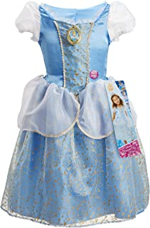 """Disney Princess Cinderella Dress Costume, Sing & Shimmer Musical Sparkling Dress, Sing-A-Long To """"A Dream Is A Wish Your H..."""