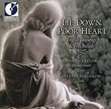 Vocal and Instrumental Music (English) - Jones, R. / Dowland, J. / Campion, T. (Lie Down, Poor Heart - English Lute Songs and Folk Ballads)