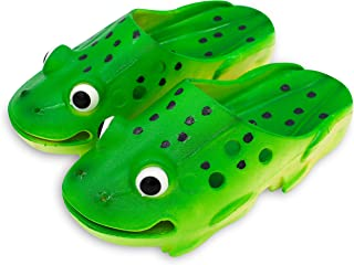 Coddies Frog Clogs | Unisex Kids Clogs, Sandals, Slides, Slippers, Beach, Shower, Toddler Water Shoes for Boys & Girls