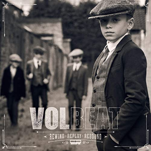 「VOLBEAT / REWIND, REPLAY, REBOUND」の画像検索結果