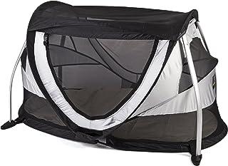 Deryan Peuter Box resesäng tält barntält resetält inklusive sovmatta och bärväska med popup uppbyggd inom 2 sekunder, silv...