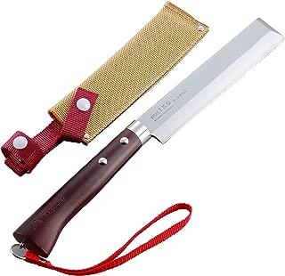 Tomita Nissaku Japanese Garden Machetes No. 4165 Stainless Steel Blade 1k-6 HRC 58° with Strap