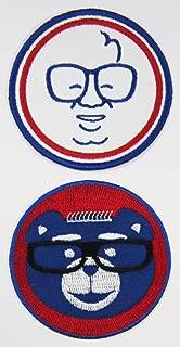2pk ~ 1 Harry & 1 Cubbie 3in Instant Fan Patches