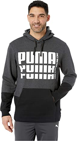 Rebel Up Hoodie Fleece