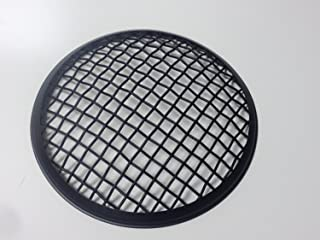 Motorcycle mesh black grill headlight cover wire stone guard 5.75