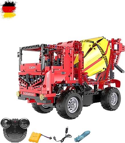 2.4 GHz à douille Kit DIY RC CiHommest Mitigeur monocomhommede Camion Truck avec élévateur en pierres à construire soi-même bricolage 2 en 1