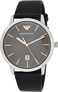 Emporio Armani Gents Wrist Watch, Black