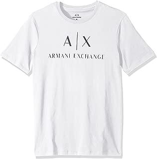 A|X Armani Exchange Men's Crew Neck Logo Tee